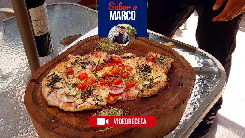 Malaya de cerdo a la pizza