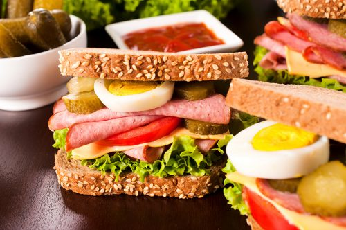 Sandwiches para picnic